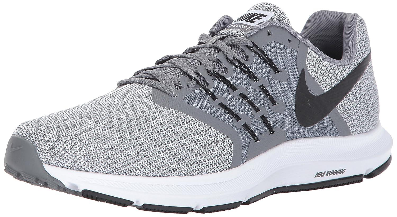best sneakers 03728 81c9a Nike Run Swift Cool Grey Black Wolf Grey Black Men s Running Shoes   Amazon.co.uk  Shoes   Bags