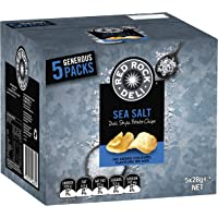 Red Rock Deli Sea Salt Potato Chips Multipack (5 x 28 grams) - 40 Single Serves