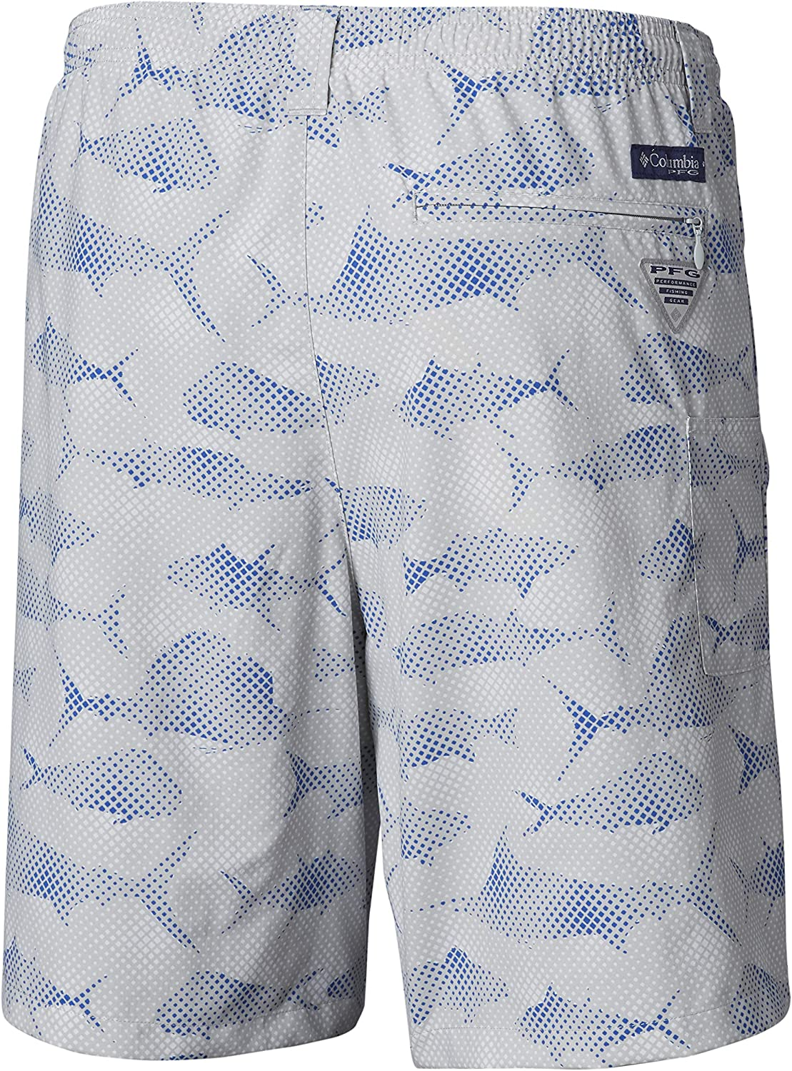 UPF 50 Sun Protection Breathable Columbia Mens PFG Super Backcast Water Short