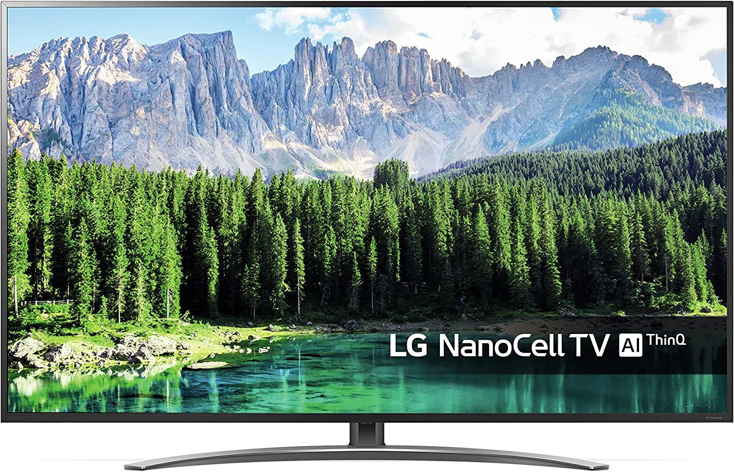 LG - TV Led 139 Cm (55)  Lg 55Sm8600 Nanocell 4K HDR Smart TV con Inteligencia Artificial (IA): 609.09: Amazon.es: Electrónica