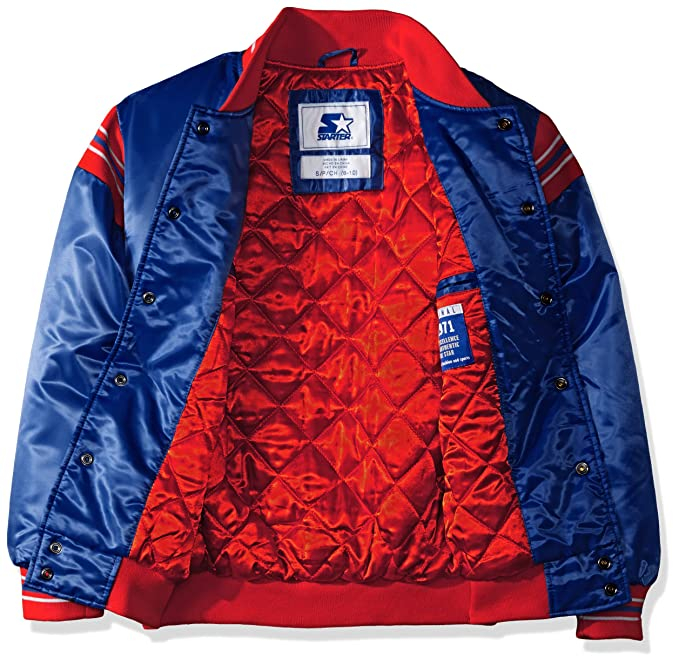 Starter Teen-Boys The Enforcer Retro Satin Jacket