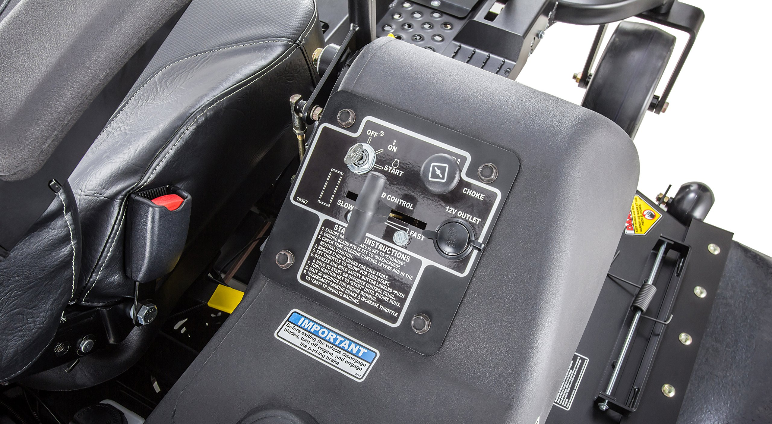 Swisher Z21554CPHO 21.5HP Reponse Gen 2 Honda Ztr Commercial Pro, Black, 54'' by Swisher (Image #14)