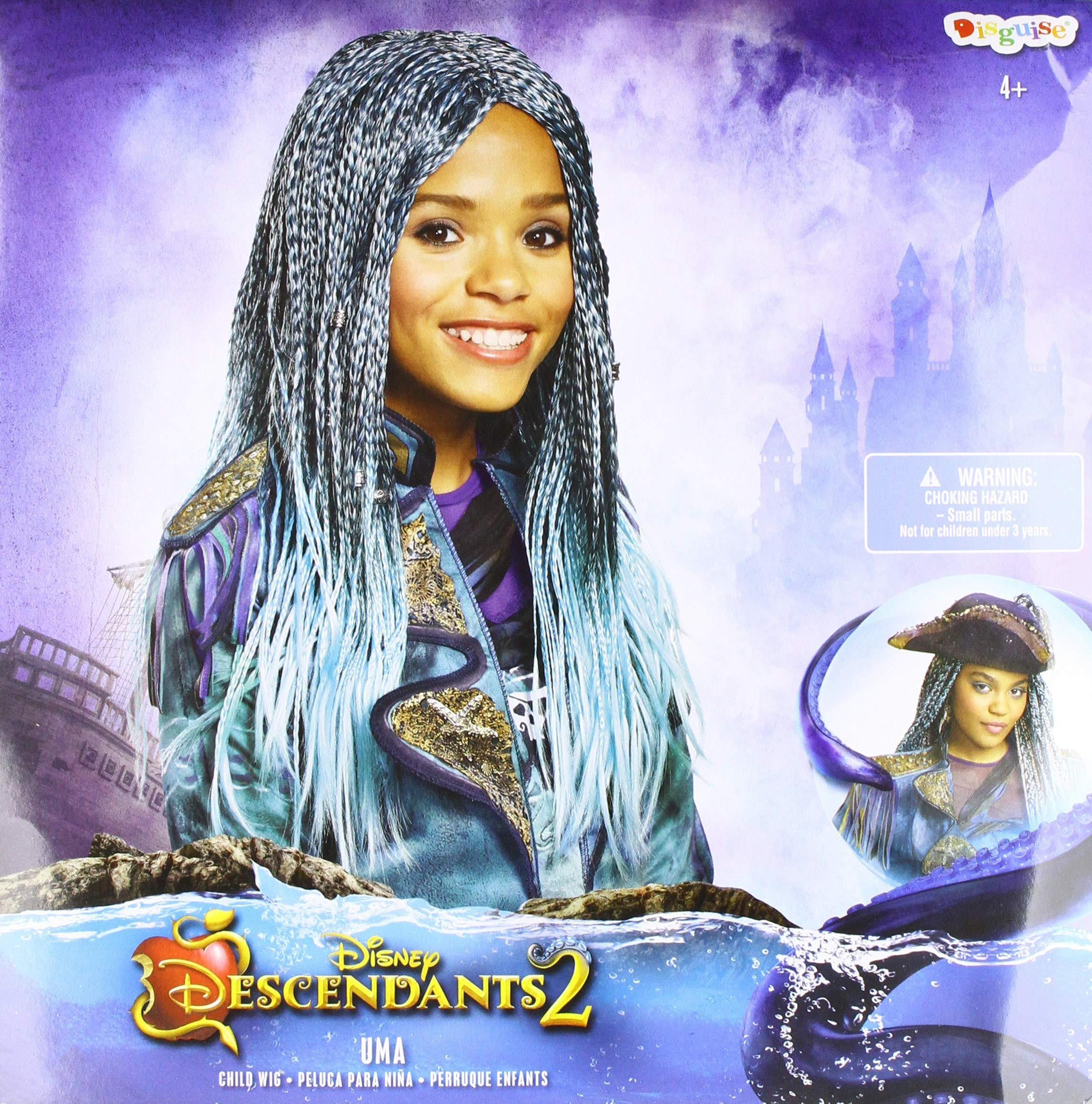 Disneys Descendants 2 Uma Isle Look Wig product image