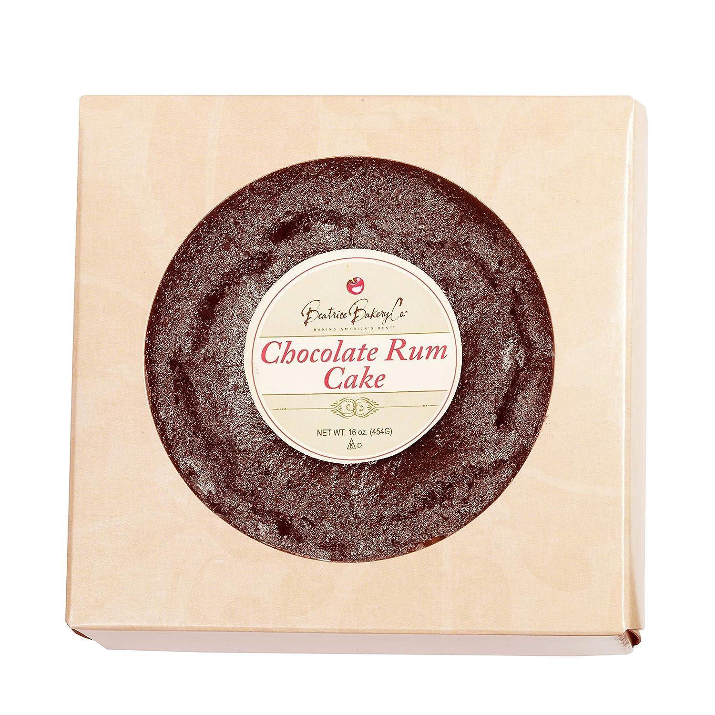 Grandma's Chocolate Rum Cake in Gift Box 1 lb Rich Moist Full Flavored with Top Shelf Caribbean Dark Rum