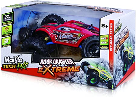 Maisto R/C Rock Crawler Extreme Radio Control Vehicle (Colors May Vary) by Domestic