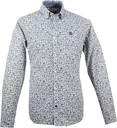 Henri Lloyd - Camisa casual - cuello tab - para hombre beige ...