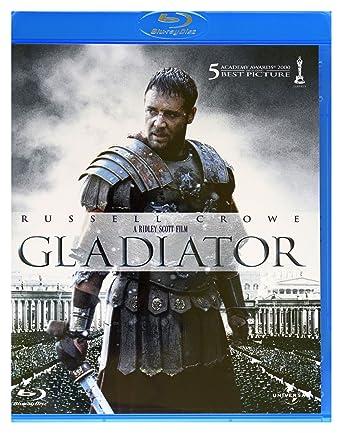 Gladiator Blu-Ray Region B IMPORT No hay versión española: Amazon ...