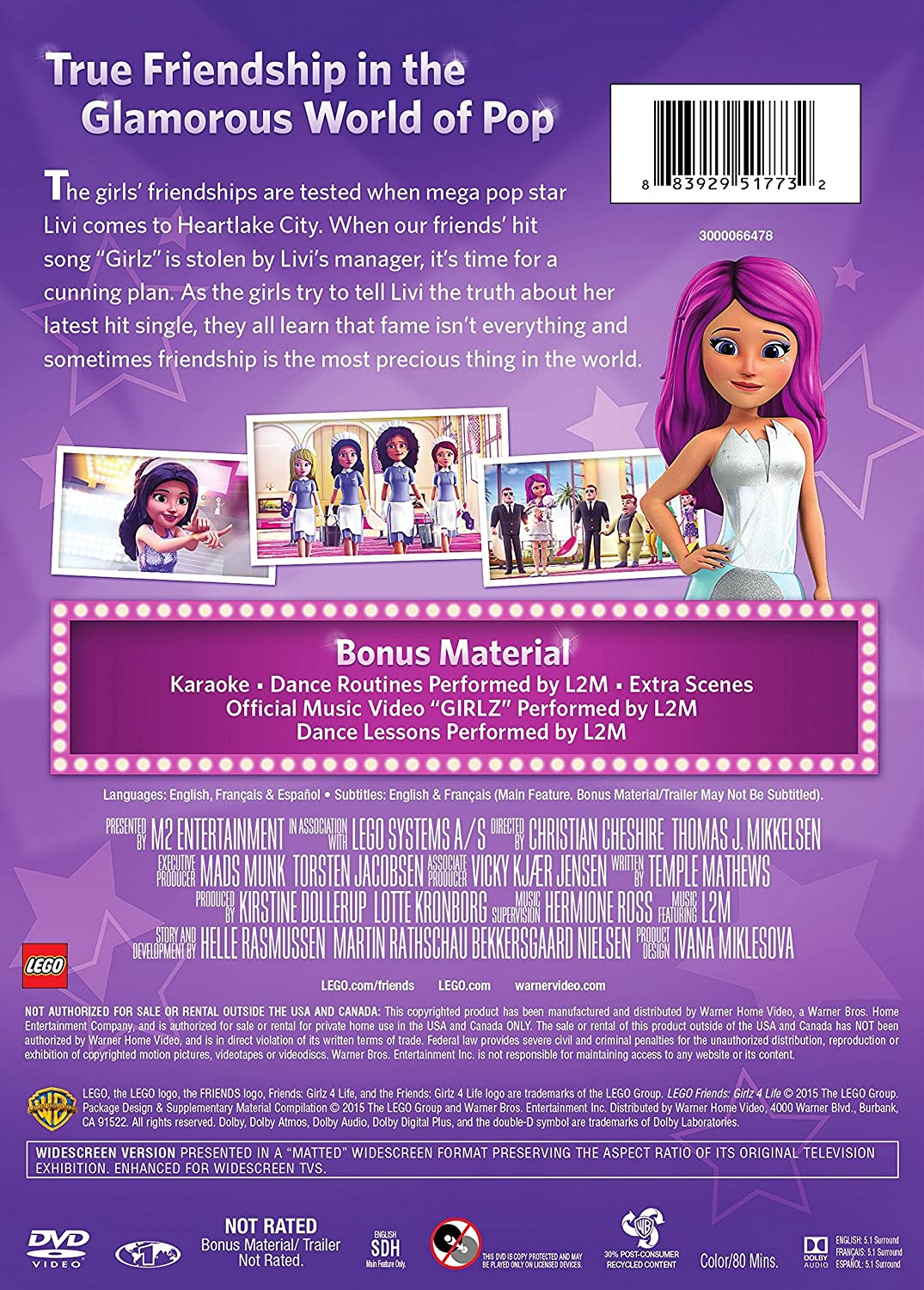 Amazoncom Lego Friends Girlz 4 Life Temple Mathews Kirstine