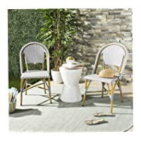 Safavieh Salcha French Bistro Stacking Side Chair (Set of 2) Deals
