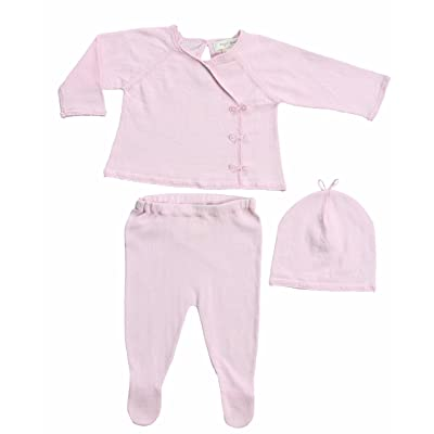 Angel Dear Neutral Baby Kimono Sweater Gift Outfit Newborn Take Me Home Set,Pink