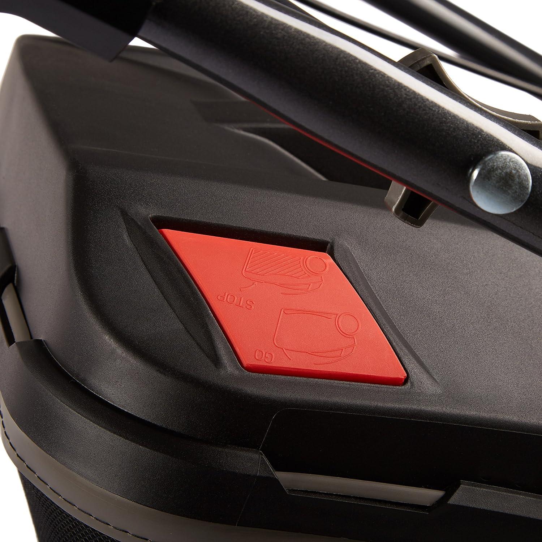 Elektrostart, variabler Radantrieb, Schnittbreite 51cm, sehr starker 3.6kW // 4.8PS Hyundai Motor, 65L Fangkorb, Mulcher, Benzinm/äher selbstfahrend HYUNDAI Benzin-Rasenm/äher LM5102G ES