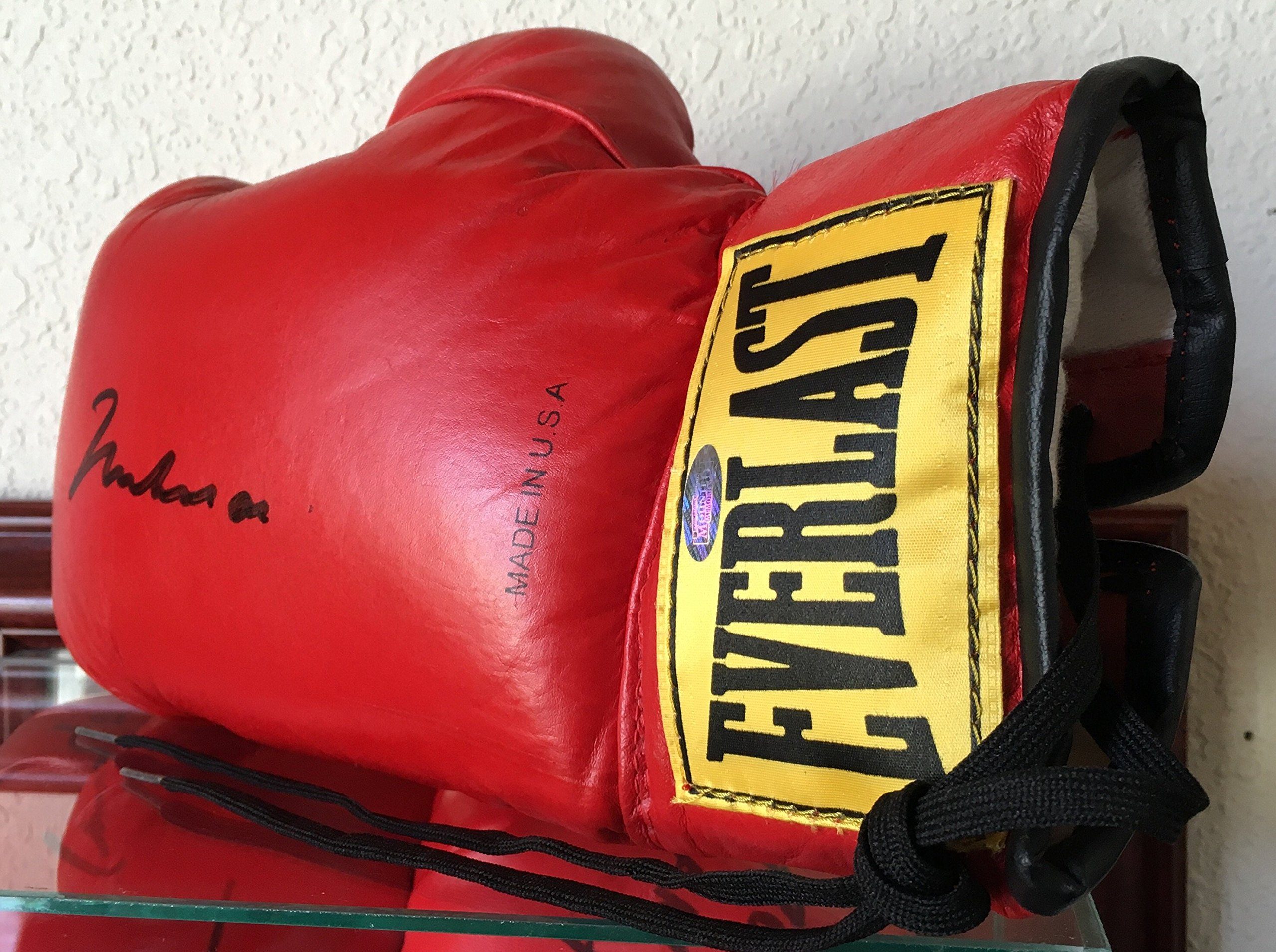 Muhammad Ali Full Size Everlast Boxing Glove Signed Authenticated by Mounted Memories