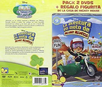 Pack El trenecito de Mickey + La aventura en moto de Manny Manit ...