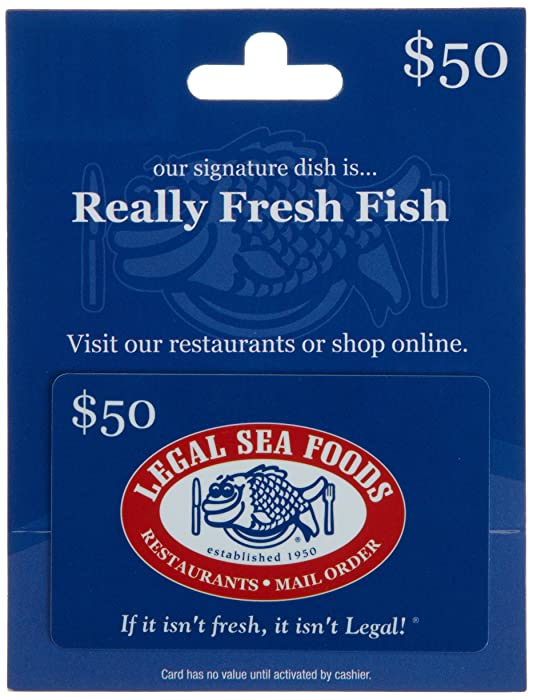 Top 6 Legal Sea Food Gift Card