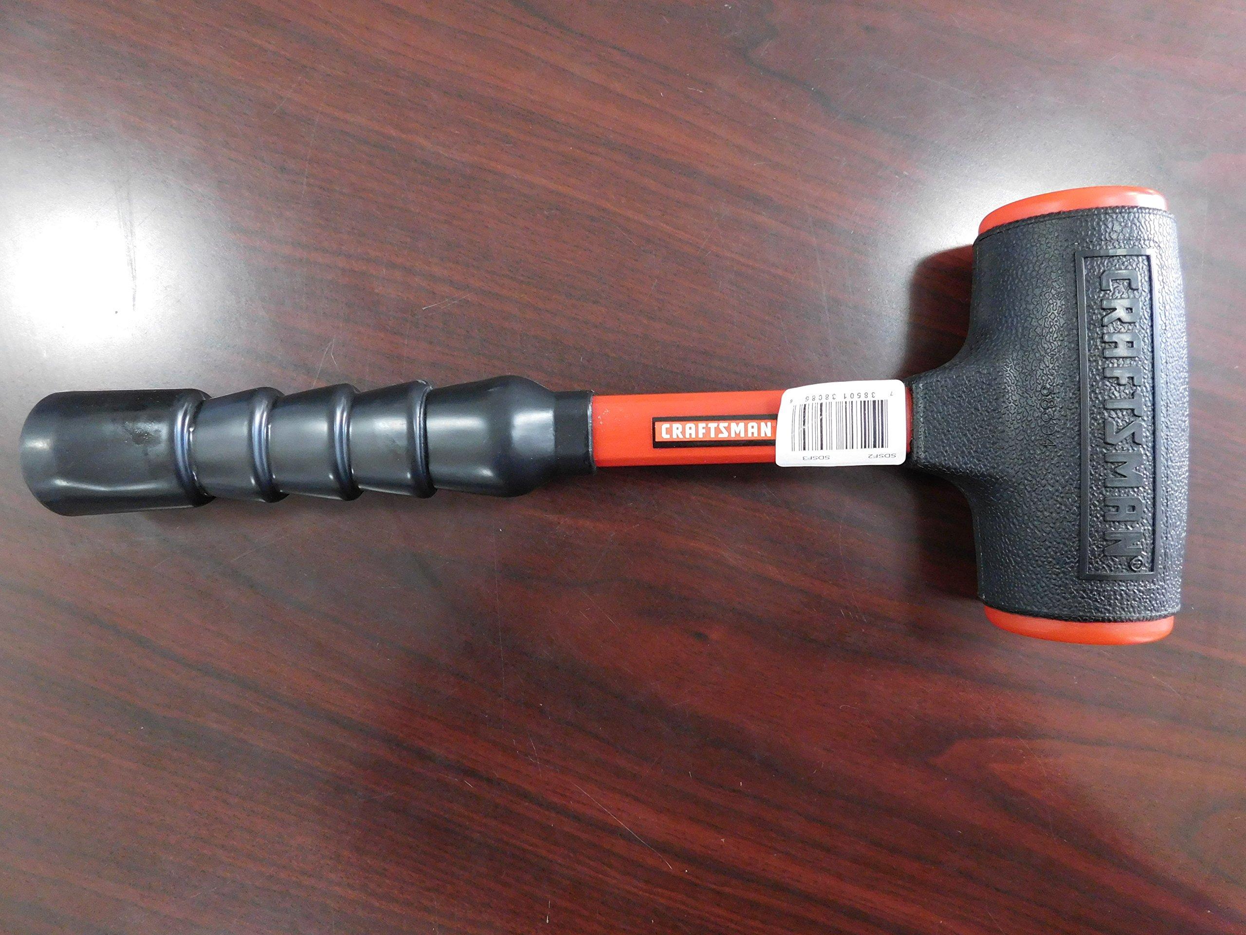 Craftsman 1-Pound Urethane Faced Dead Blow Hammer, Made in USA, Vintage/Rare, Part #938359