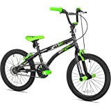 X-Games FS-18 BMX/Freestyle Bicycle, 18-Inch, Black/Green