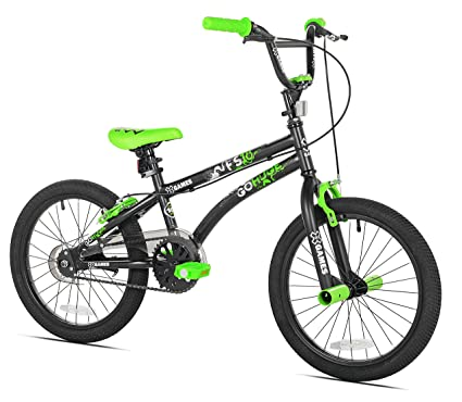 Amazon.com : X-Games FS-18 BMX/Freestyle Bicycle, 18-Inch, Black ...