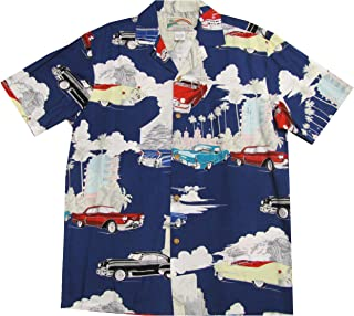 product image for Cadillac Deco Men's Hawaiian Aloha Rayon Shirt