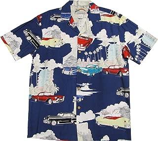 product image for Cadillac Deco Men's Hawaiian Aloha Rayon Shirt