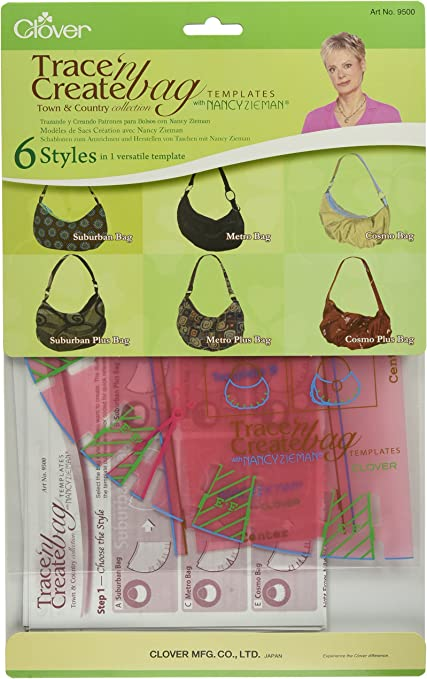Clover trace 'n create bag templates florida tote collection with.