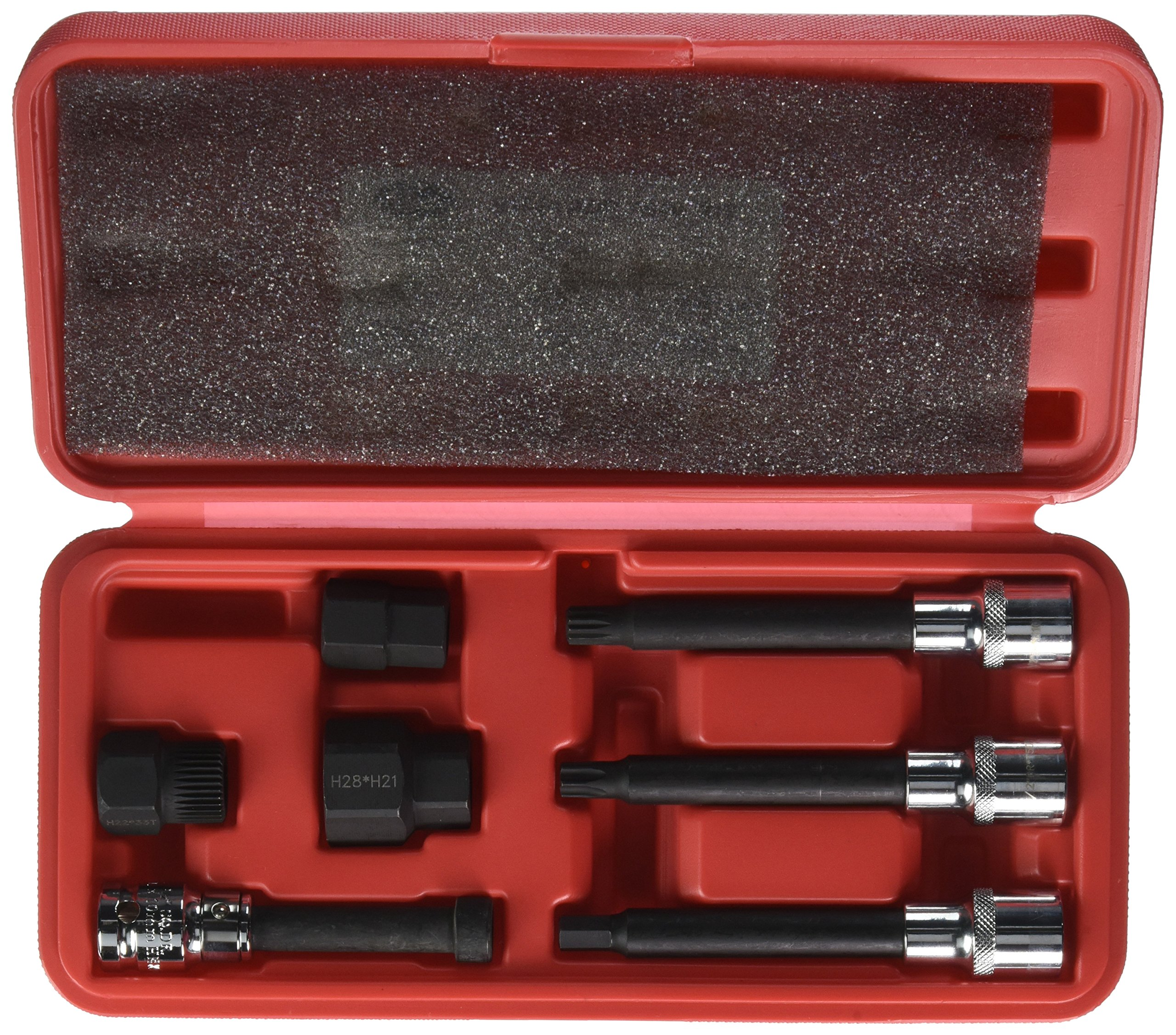 Gates 91024 Alternator Decoupler Pulley Tool Kit with Case