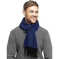 Hommes douce et fine chevrons texturé Weave écharpe par RJM