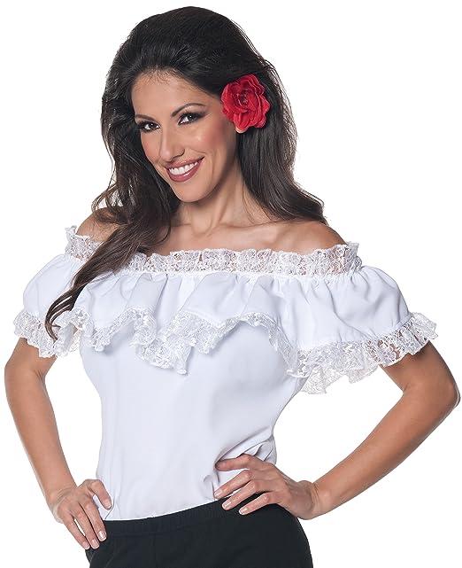 Amazon.com: Underwraps Senorita Blusa para mujer: Clothing