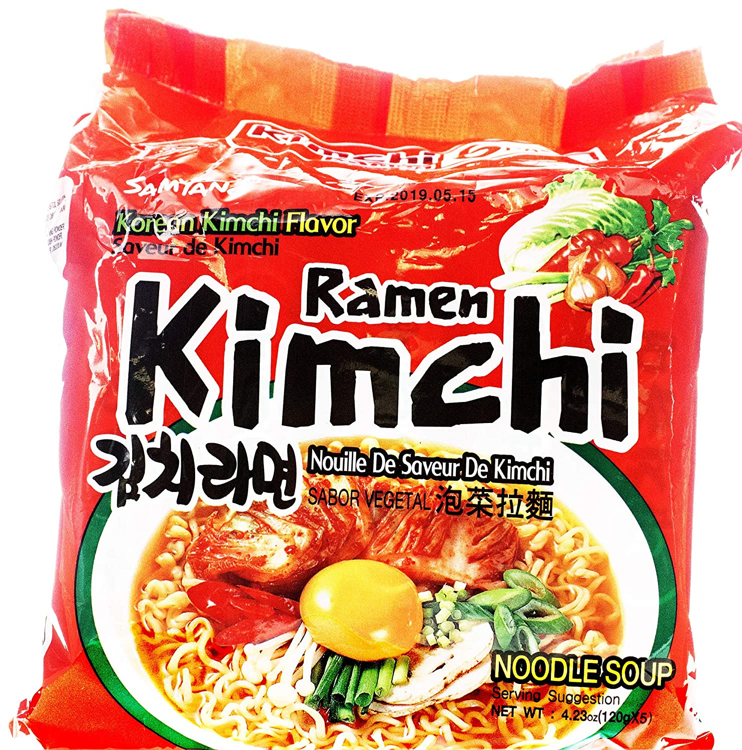 New Samyang Spicy Instant Ramen (Hot Kimchi (12 pack))