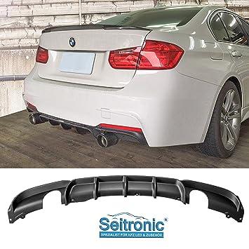 Duplex 4 Rohr Diffusor Performance Style für BMW F30,F31 M-Paket M-Sportpaket