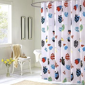 Colorful Rainbow Kreuz Gestreift Muster Badezimmer Duschvorhang