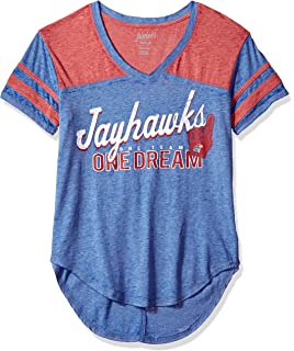 Victory Red NCAA by Outerstuff NCAA Washington State Cougars Youth Girls Tribute Raglan Football Tee 14 Youth Large