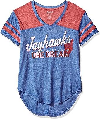 Small 3-5 Team Color NCAA Iowa Hawkeyes Juniors Outerstuff Vintage Short Sleeve Football Tee