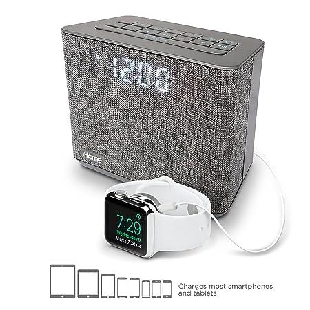 iHome iBT232 Bluetooth Dual Alarm FM Clock Radio