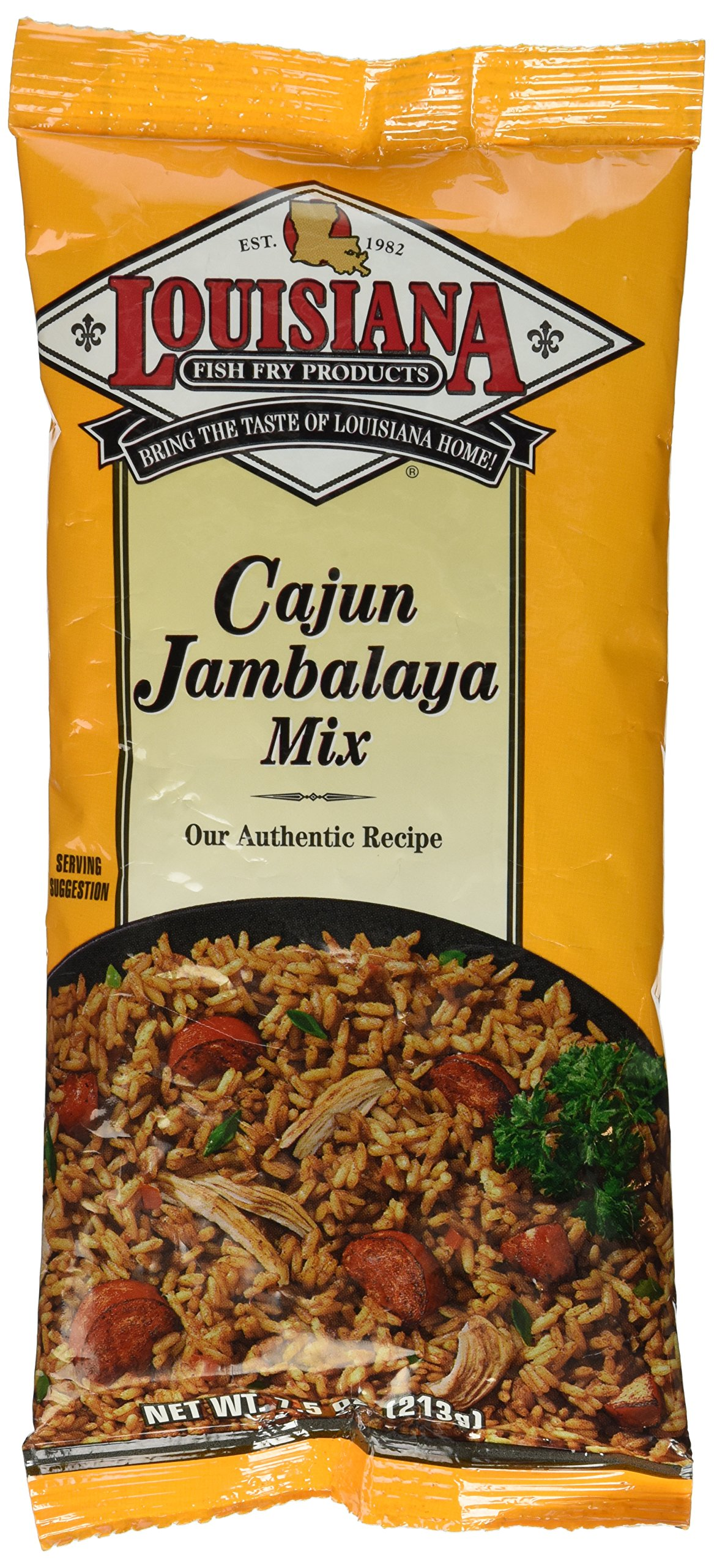 Louisiana fish fry etouffee mix reviews for Fish fry mix