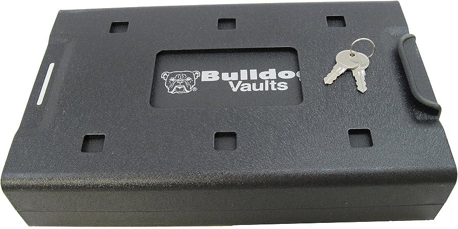 Bulldog Cases BD1150 Acero Negro - Caja fuerte (Llave plana, Acero, Negro, 287 mm, 175 mm, 63,5 mm): Amazon.es: Hogar