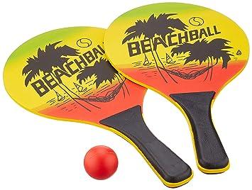 Solex 43335 - Juego de palas y pelota para playa, Multicolor (40 x ...