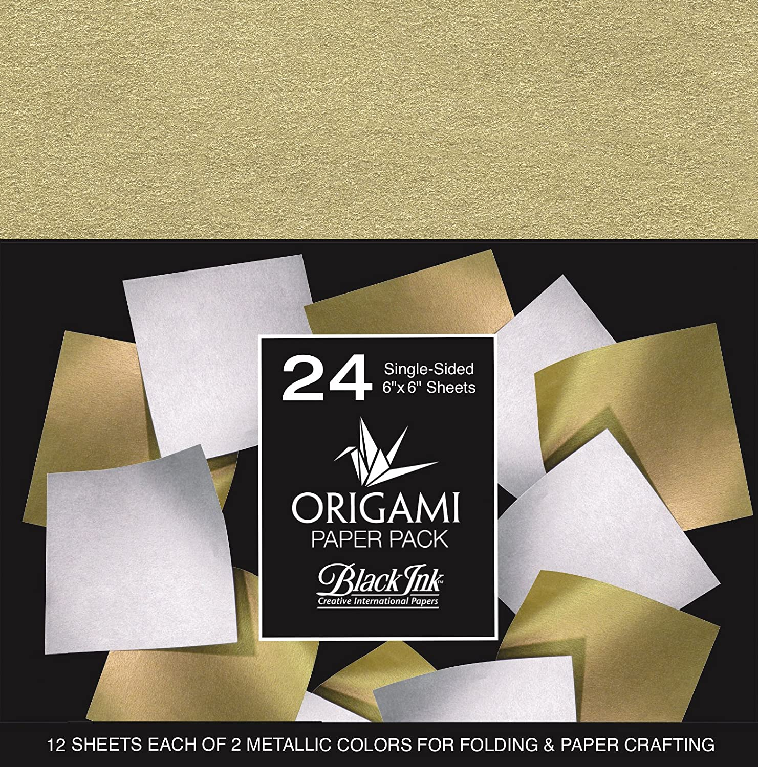 Graphic Products Origami Paper Pack, Multicoloured, 17.27 x 14.22 x 0.5 cm OP-304