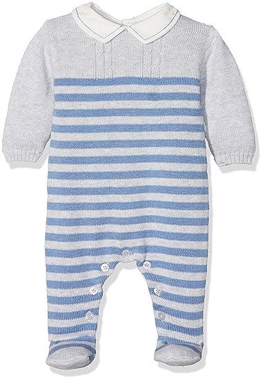 Tutto Piccolo COLLODI 3702W17, Pelele Tricot para Bebés, Indigo, 9M: Amazon.es: Ropa y accesorios