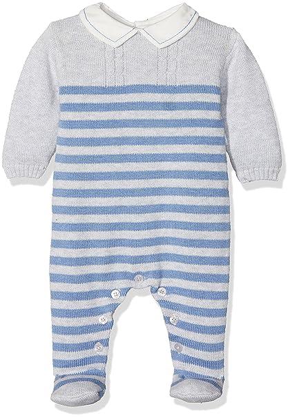 Tutto Piccolo COLLODI 3702W17, Pelele Tricot para Bebés, Indigo 9M: Amazon.es: Ropa y accesorios