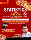 Statistics for SSC-CGL Junior Statistical Officer Paper-III (Mains)