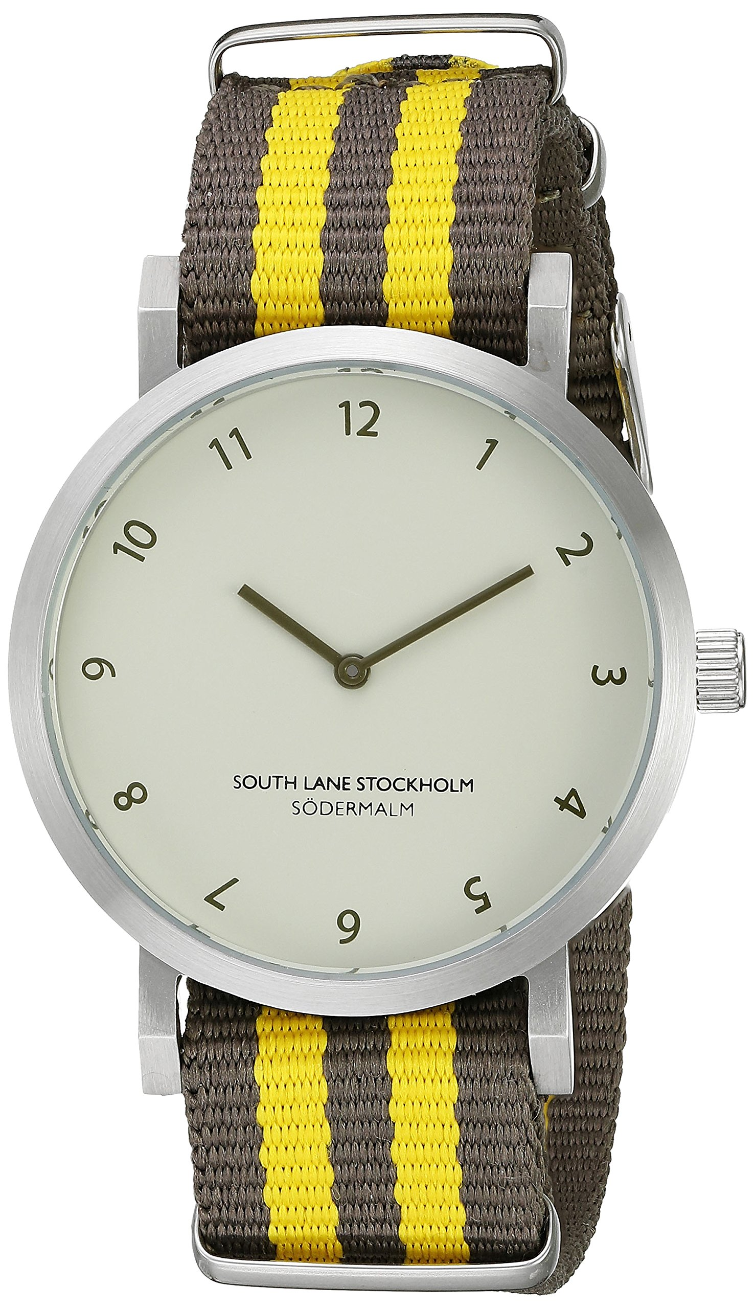 South Lane Unisex 6004 Sodermalm Analog Display Japanese Quartz Brown Watch