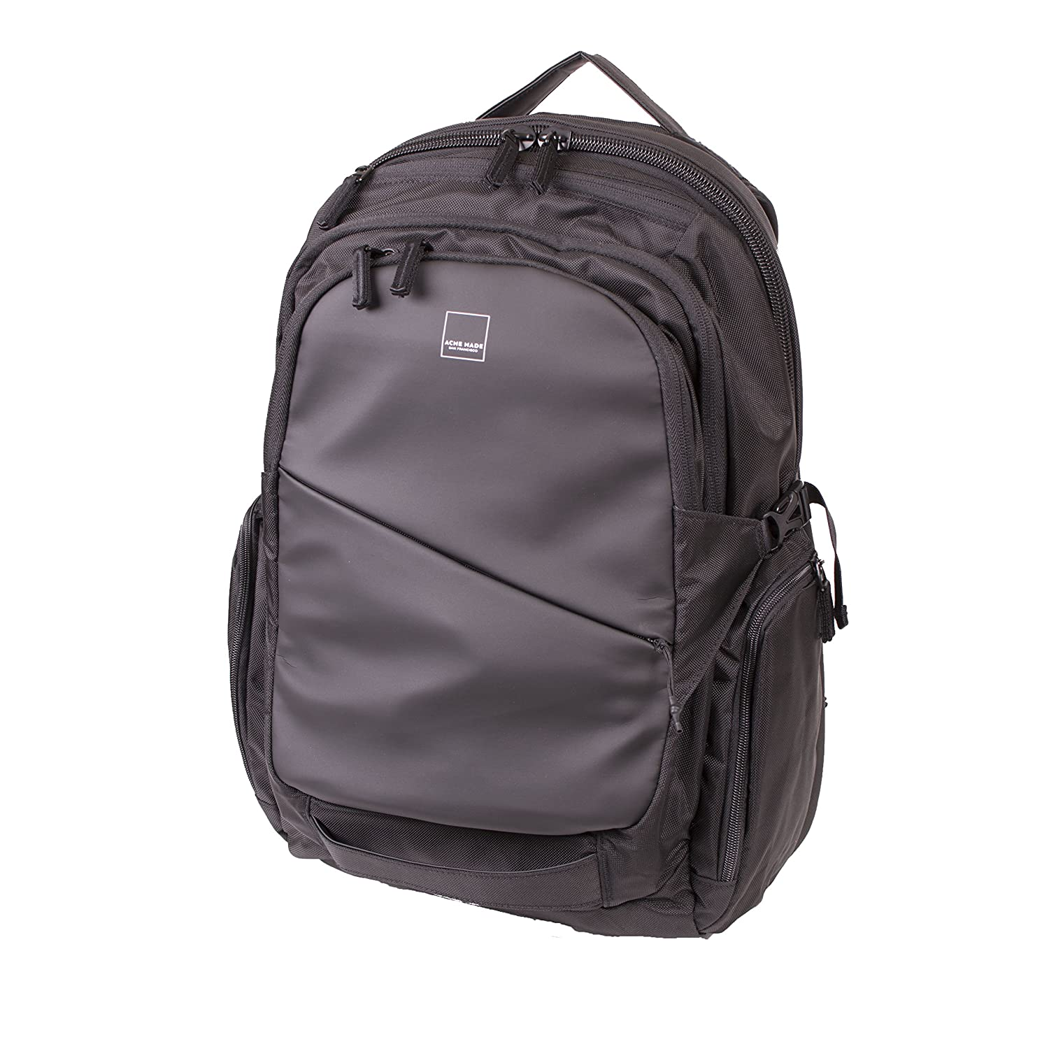 Acme Made Union Street Sturdy Traveler Backpack, Black (AM20711) 4EProject Inc.