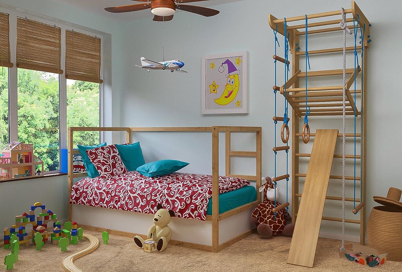 Klettergerüst Kinderzimmer : Turnwand kinder gym klettergerüst holz sportgerät