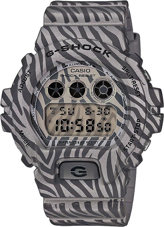 [カシオ] 腕時計 ジーショック ZEBRA Camouflage Series DW-6900ZB-8JF シルバー