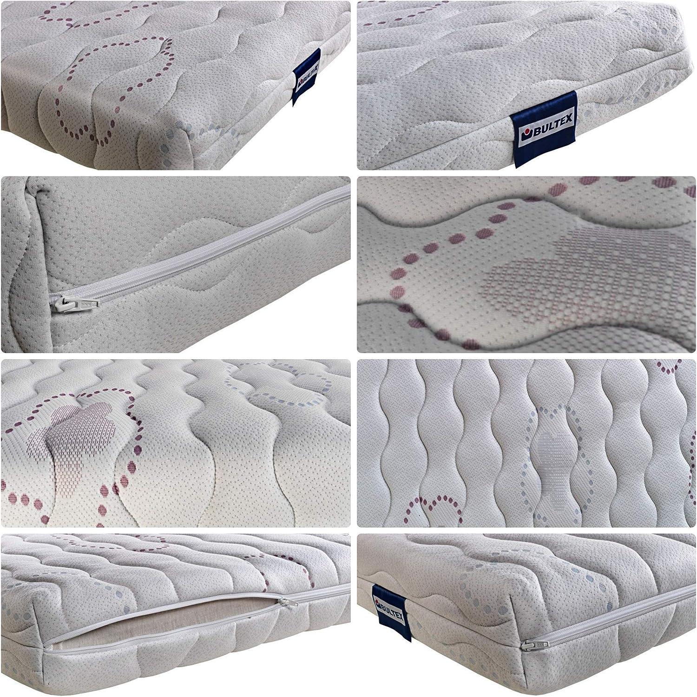 Colch/ón de Cuna Luna Espumaci/ón Avanzada // Advanced Foam Crib Mattress 60x120 cm Bultex