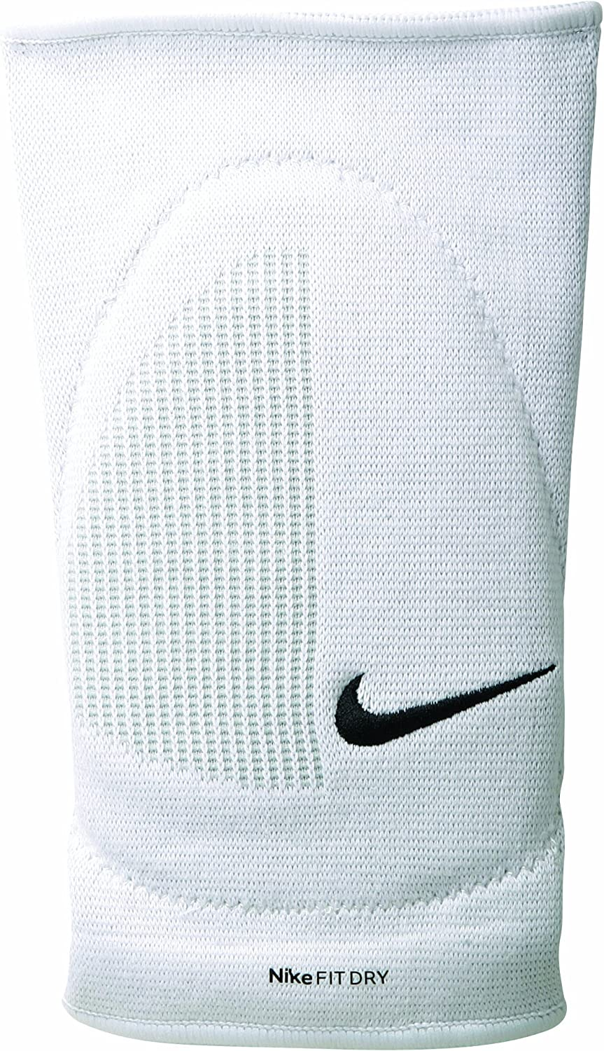 Nike Pair White Padded Knee Pads Volley Volleyball Fit Dry Skinny Elastic S M Amazon Co Uk Sports Outdoors