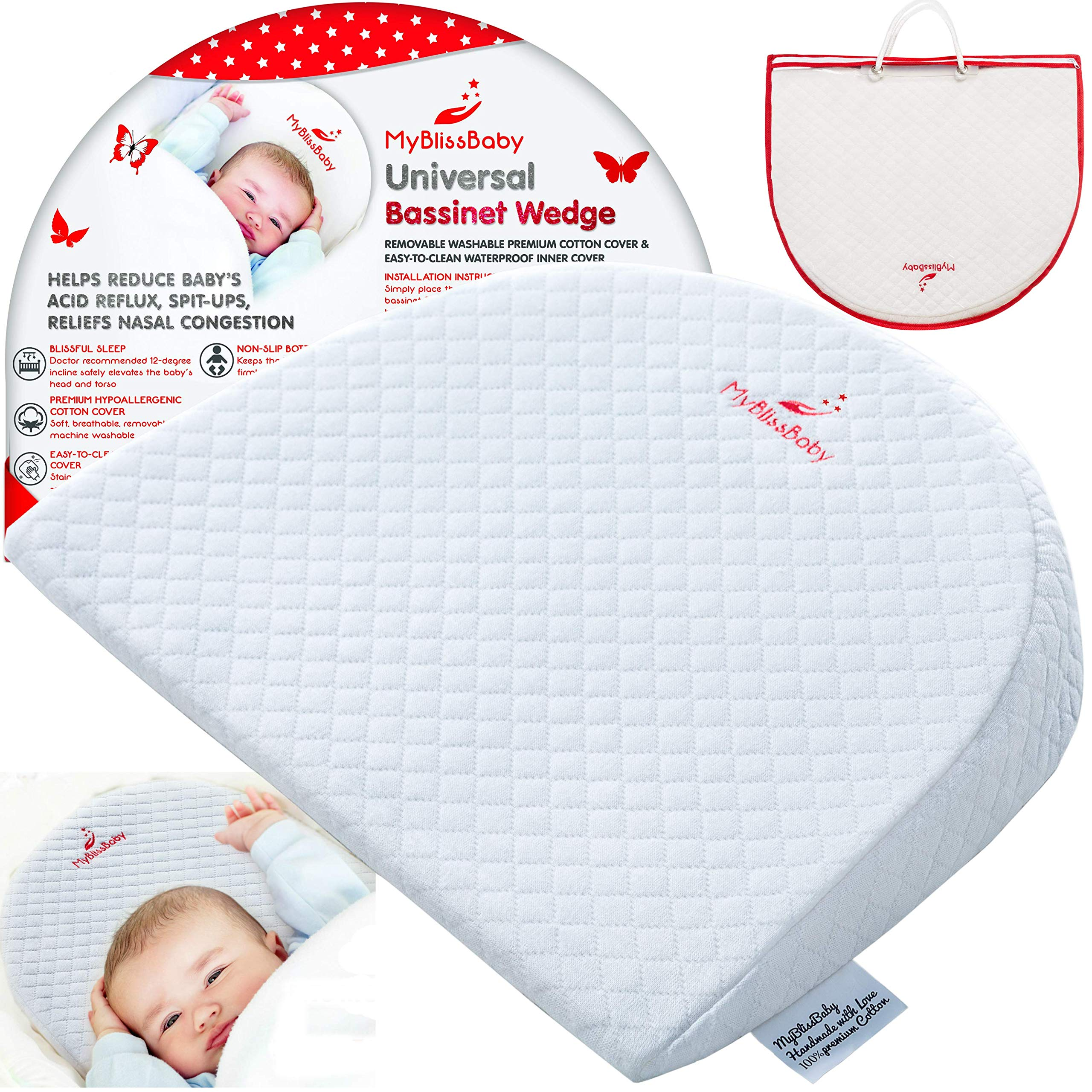 Amazon Com Crib Wedge Pillow For Amazing Sleep Newborn