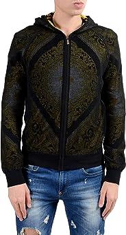 Versace Men's Barocco Print Full Zip Hoodie Size US S IT 48