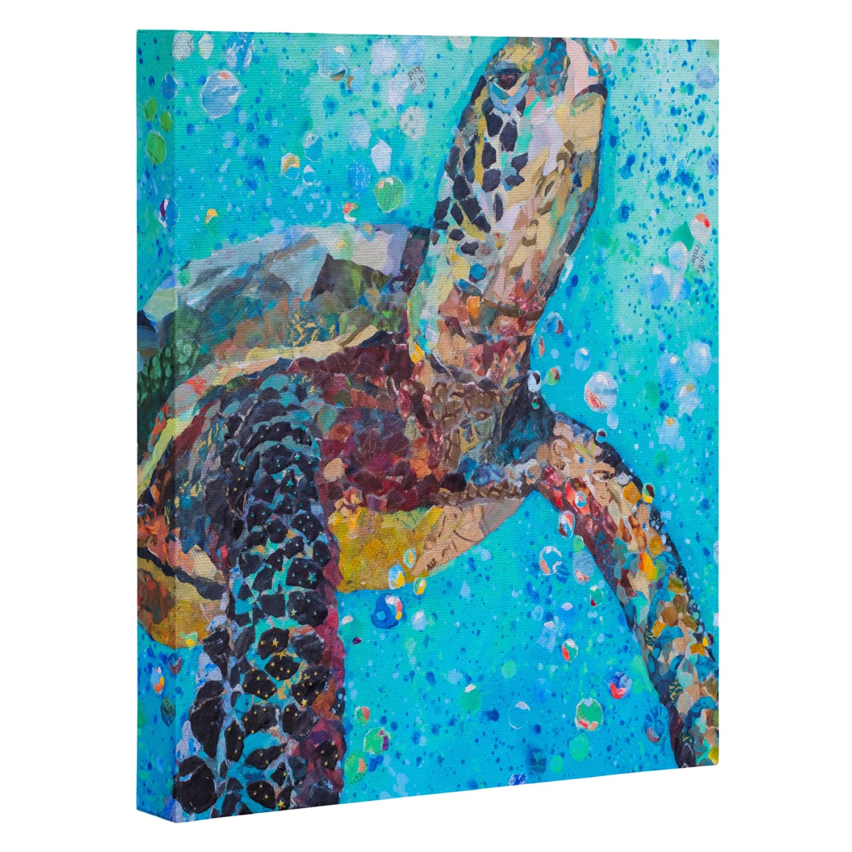 Kess InHouse Cecibd Empty Watercolor People Luxe Rectangle Panel 24 x 36
