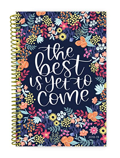 bloom daily planners 2018 2019 academic year day planner monthlyweekly calendar book